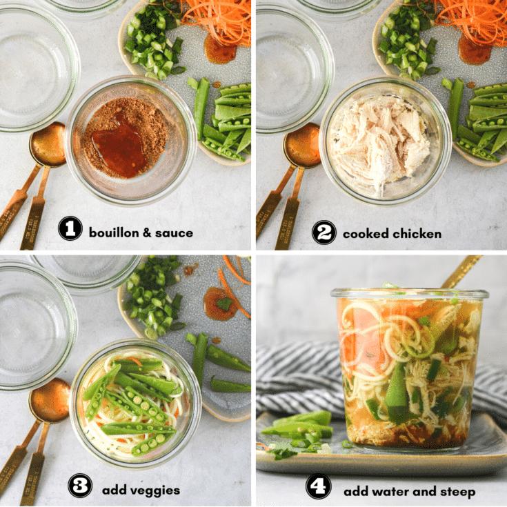 how to build a mason jar soup