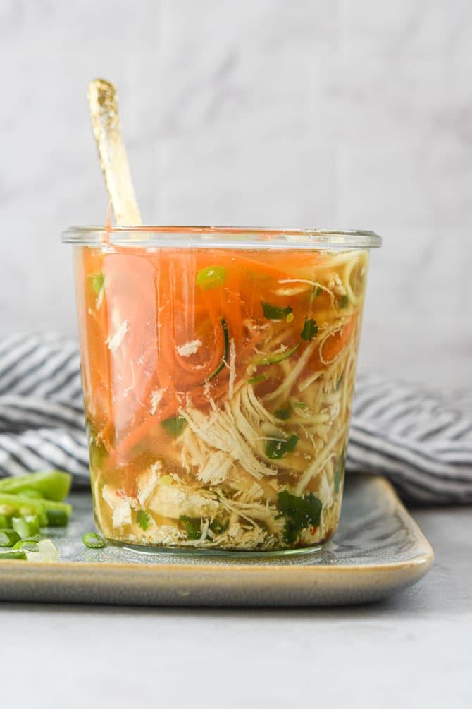 wide mouth mason jar soup