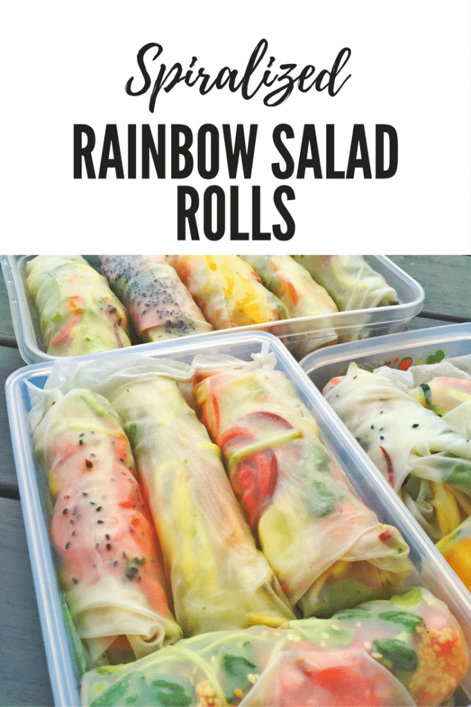 Spiralized Rainbow Rolls Pin