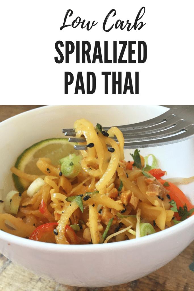 Spiralized Pad Thai Pin