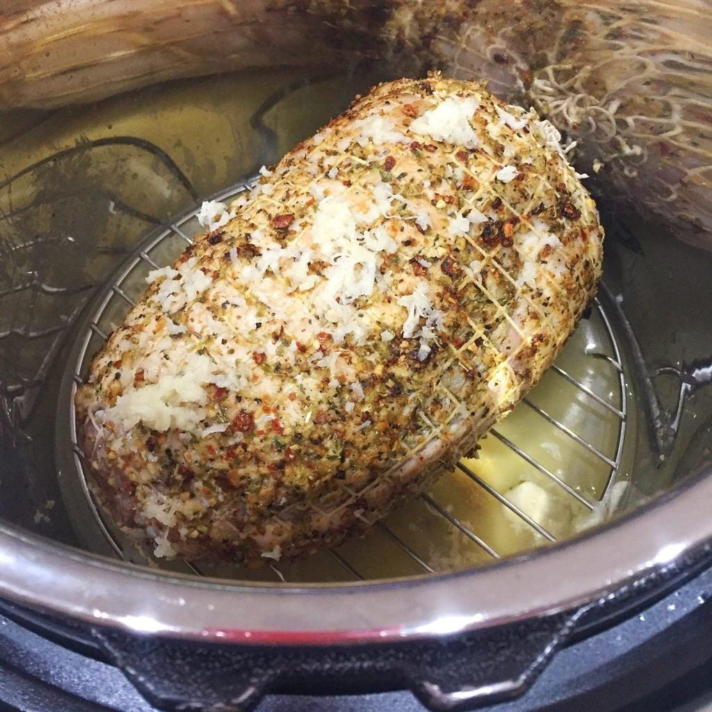 Instant Pot DIY Sandwich Meat In pot