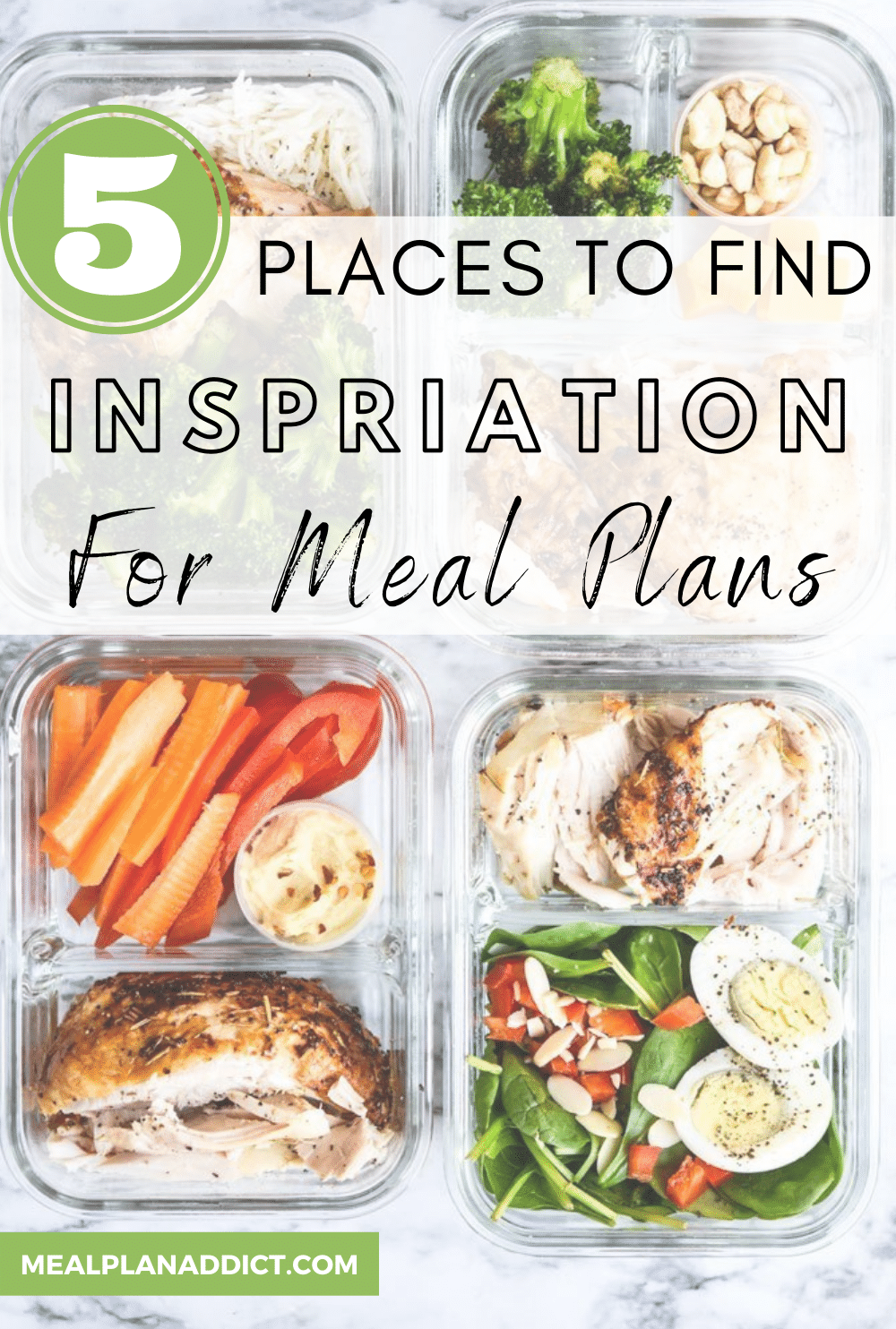 5 Places to Find Inspiration for Meal Plans