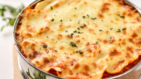 Sneaky Veggie Instant Pot Lasagna (Pot in Pot)
