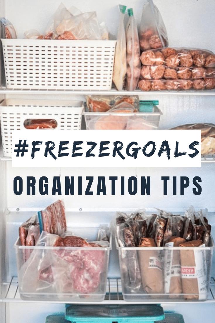 freezer goals organization tips pinterest pin image of freezer