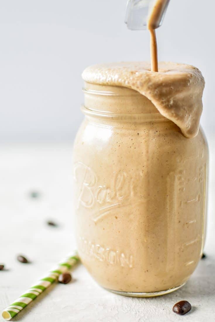 {Prep Ahead} Espresso Oat Breakfast Smoothie