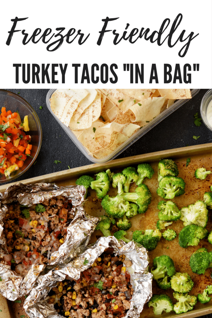 Freezer Friendly Tacos in a Bag