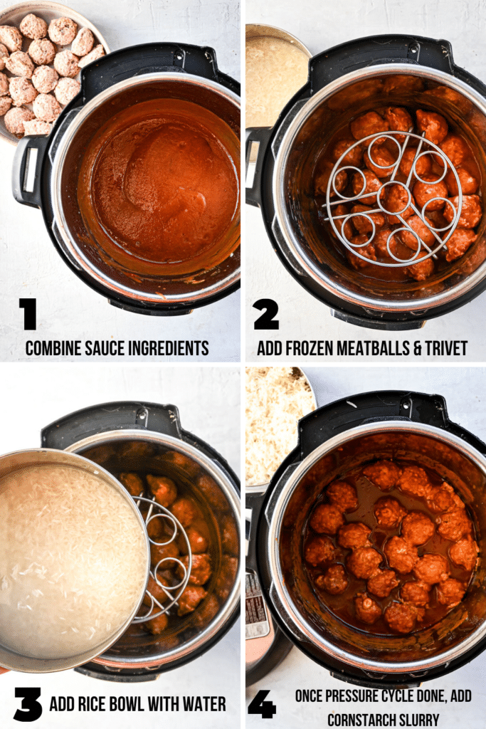 step by step how to make sweet and sour meatballs