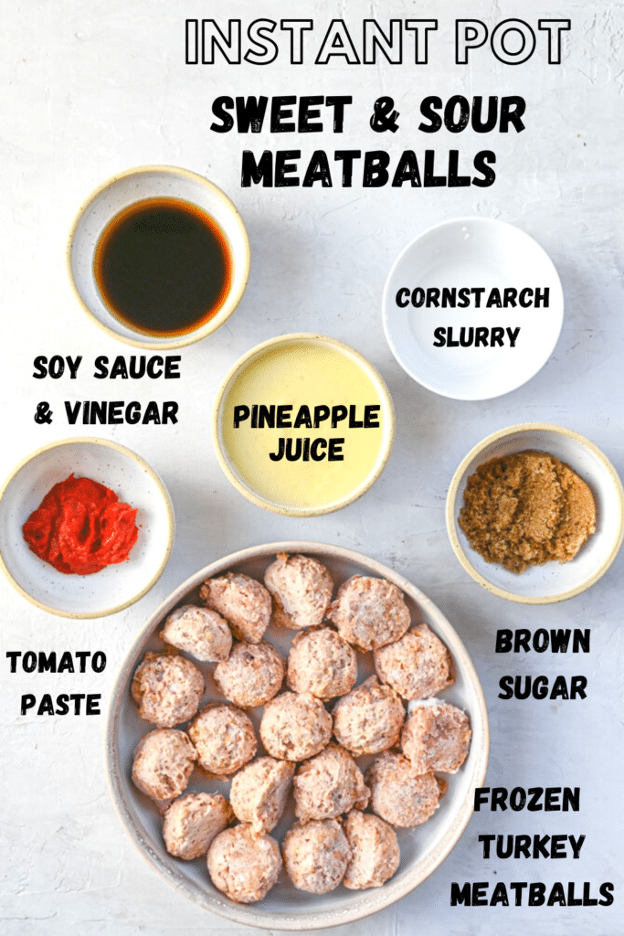 sweet and sour meatball ingredients
