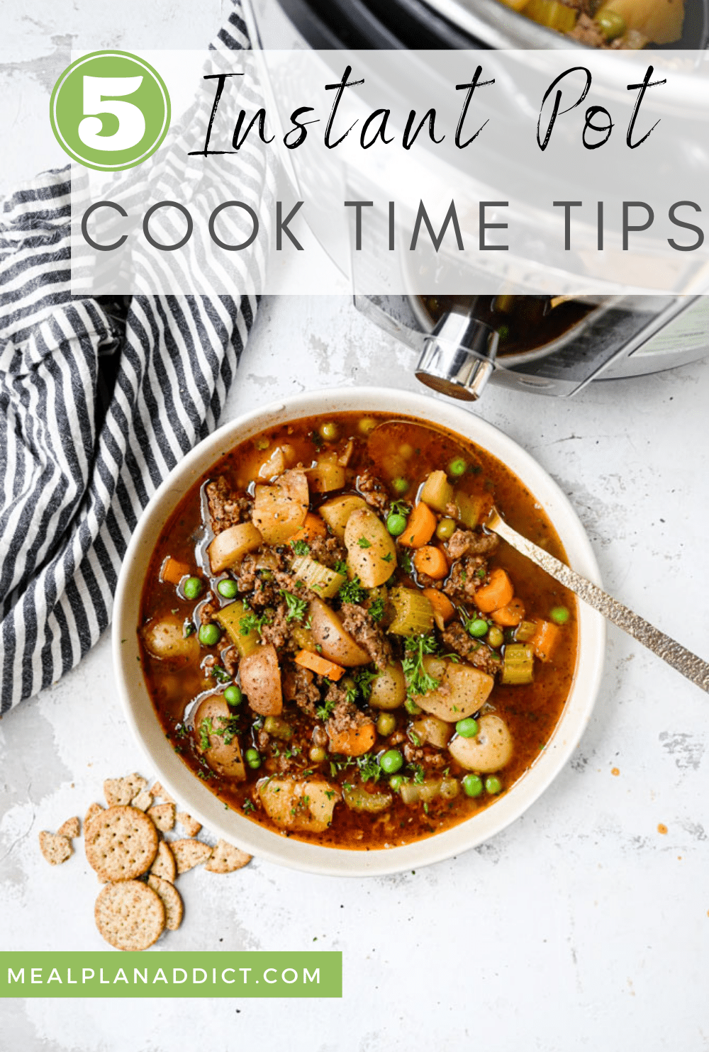 5 Instant Pot Cook Time Tips