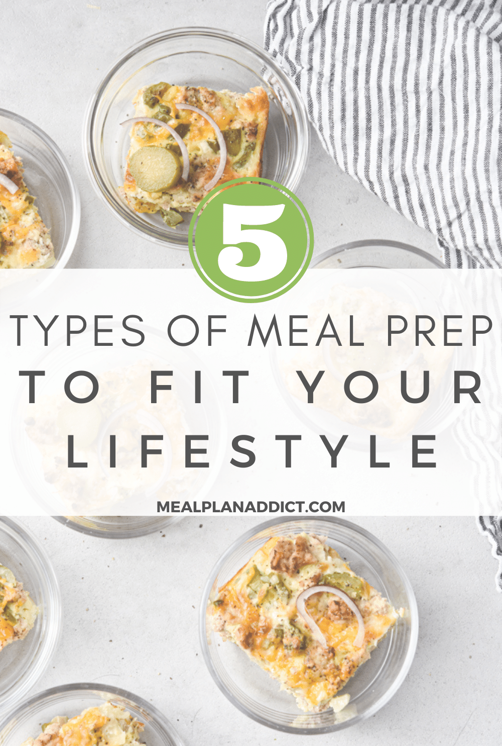 5 Types of Meal prep To Fit Your Lifestyle | Meal Plan Addict