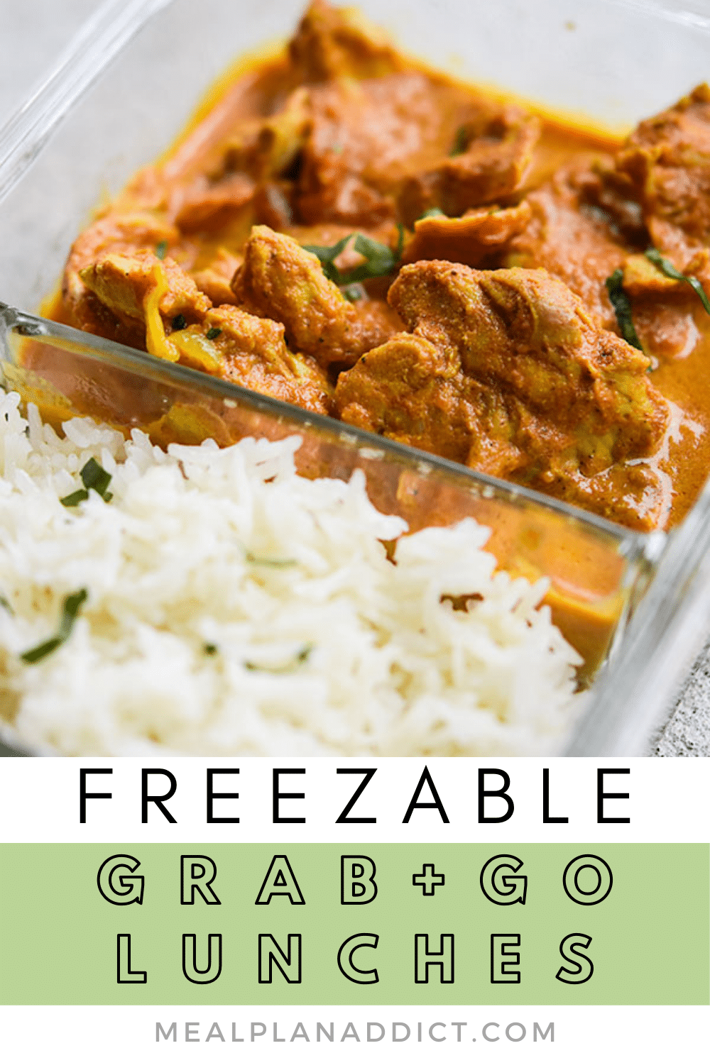 How to Make Freezable Grab and Go Lunches | Meal Plan Addict