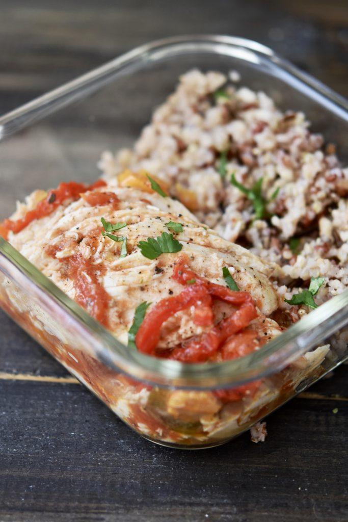 Instant Pot Spicy Italian Faux Tisserie Chicken {Freezer Friendly}
