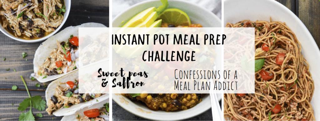 Instant Pot Meal Prep Challenge