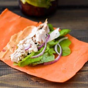Turkey Carrot Sheet Wraps