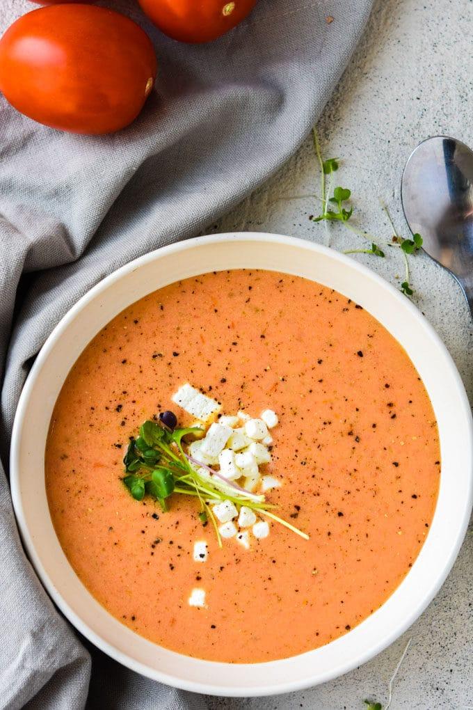 Instant Pot Smoky Tomato Soup