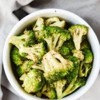 Highly Addictive {Vegan} Air Fryer Broccoli