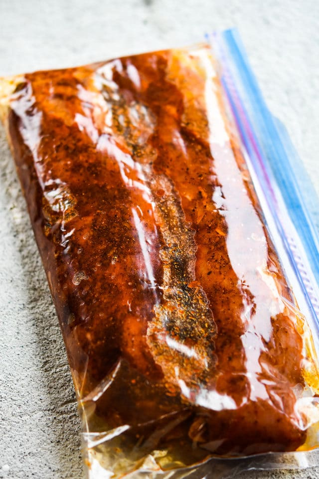 Freezer Friendly Moroccan Style Pork Tenderloin {Oven or Air Fryer}