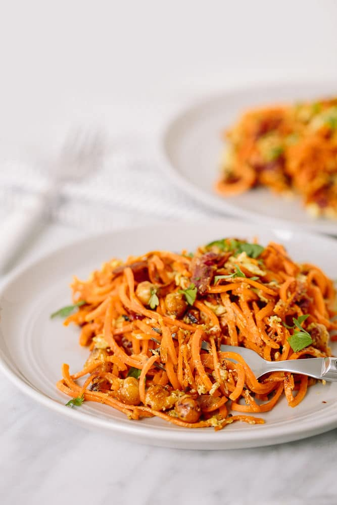 20 types of produce you should be spiralizing right now sweet potato