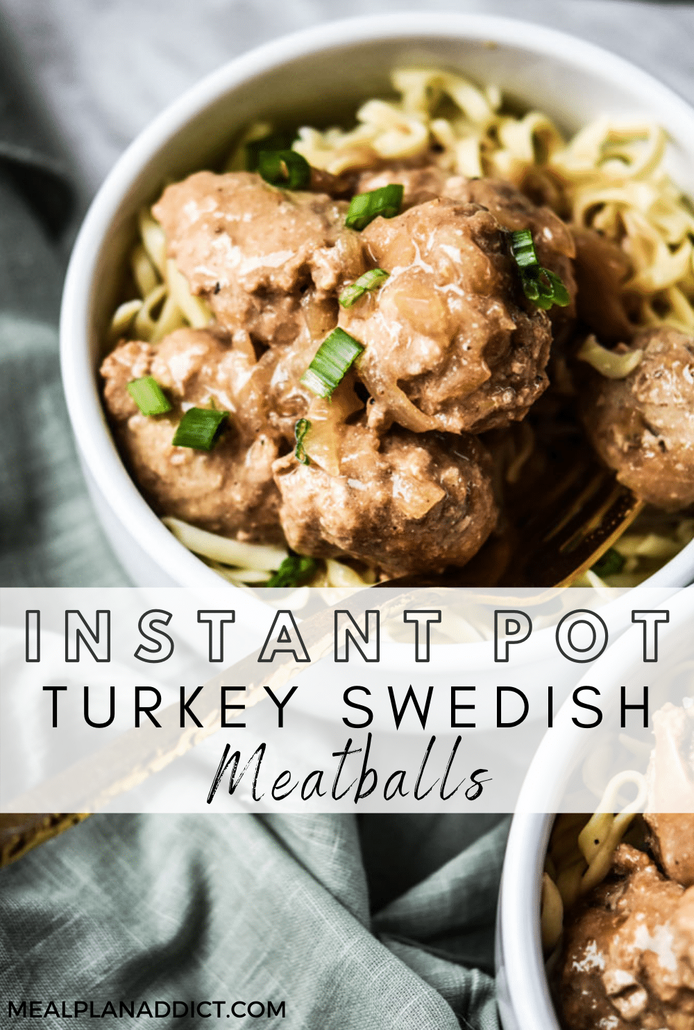 Swedish meatball pin for Pinterest