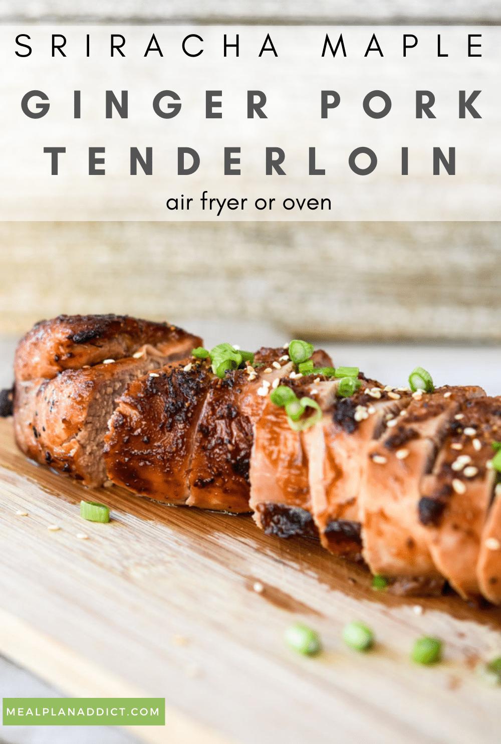 Pork Tenderloin pin for Pinterest