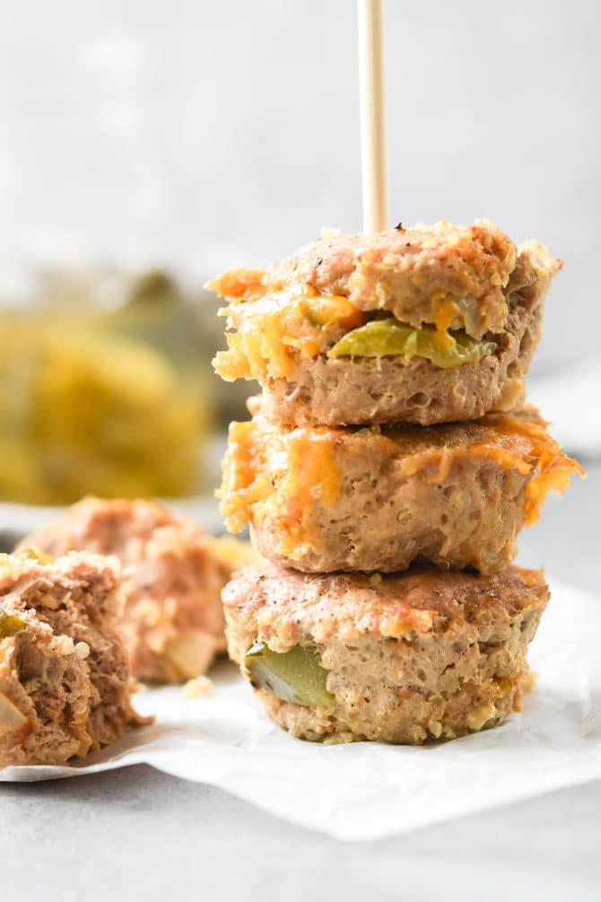 Cheeseburger Meatloaf Minis-3