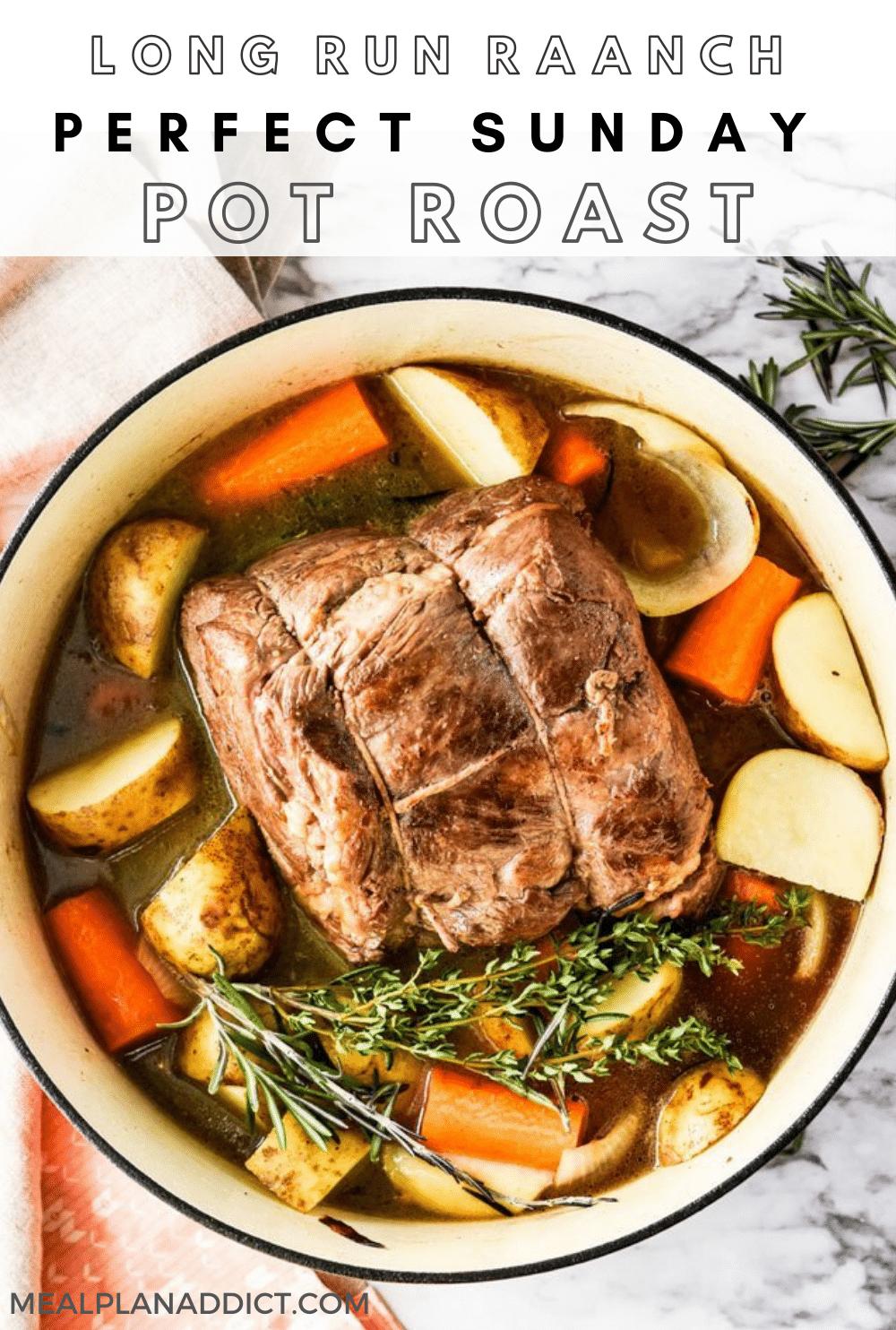 Pot Roast pin for Pinterest