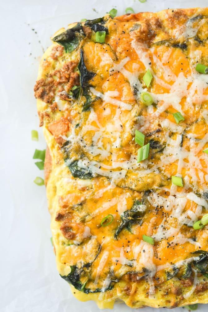 Hearty Taco Breakfast Casserole-3