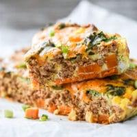 Hearty Taco Breakfast Casserole