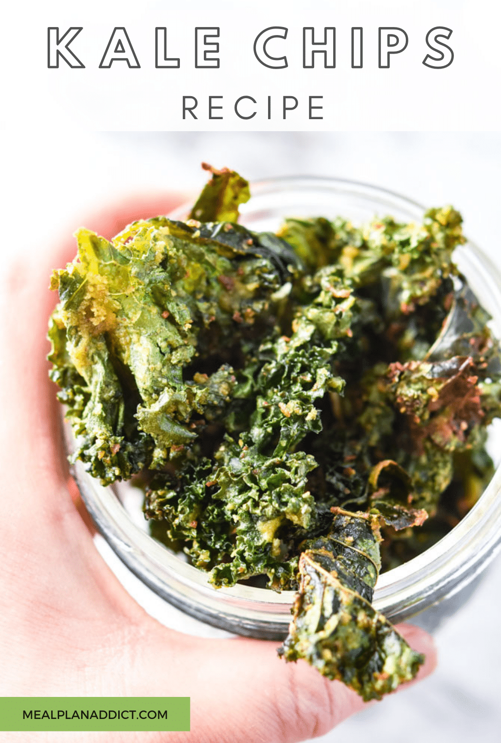 Kale Chips Recipe | Meal Plan Addict