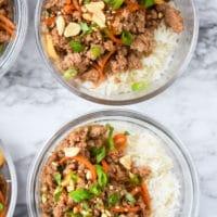 sriracha hoisin ground pork bowls-3