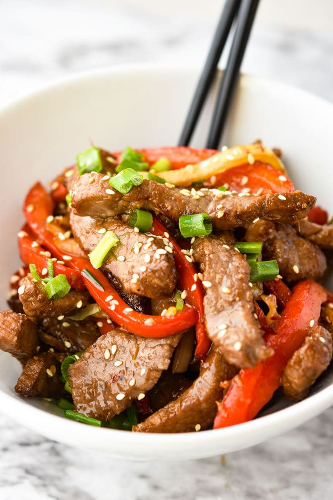 Air Fryer Asian Beef & Veggies-5