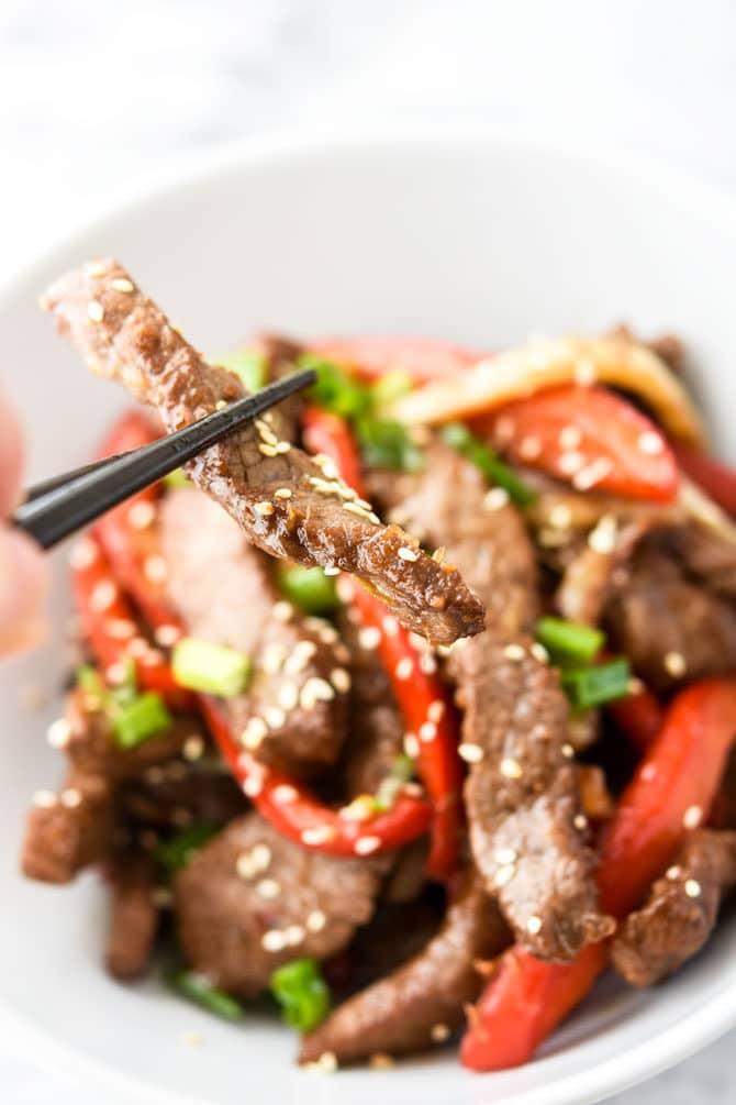 Air Fryer Asian Beef & Veggies-7