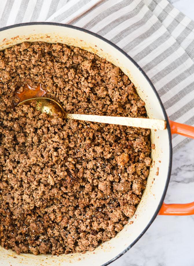 Batch Prep Taco Meat-pan