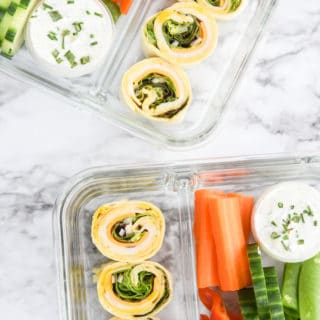 Honey Mustard Turkey Pinwheel Meal Prep-2