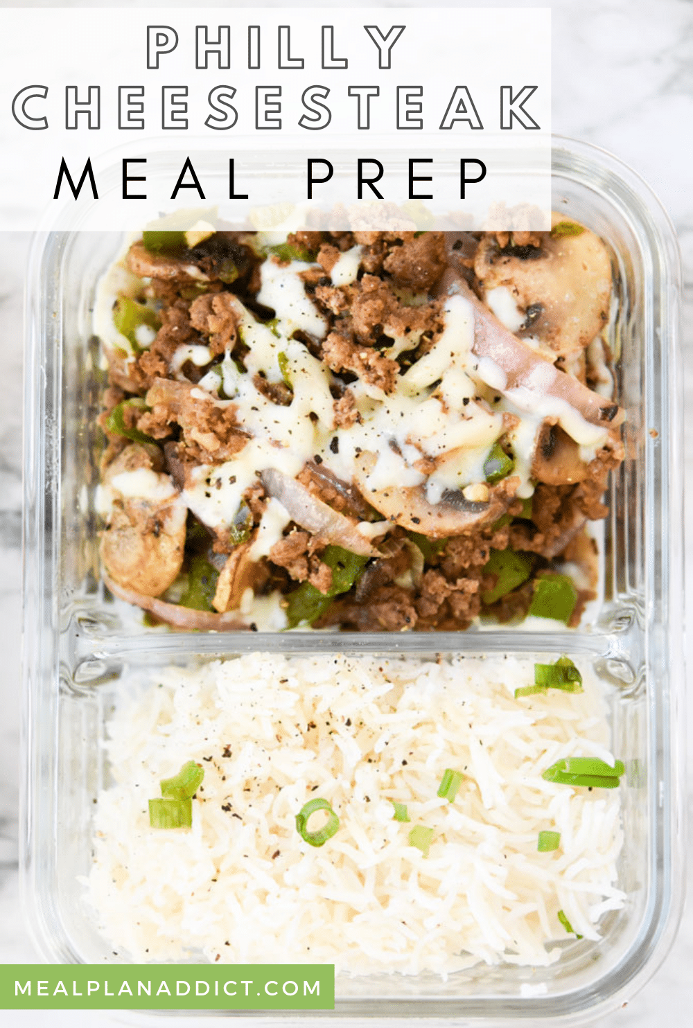 Easy Philly Cheesesteak Meal Prep