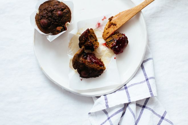 Beet Blueberry Muffins gluten free | Nutrition Stripped