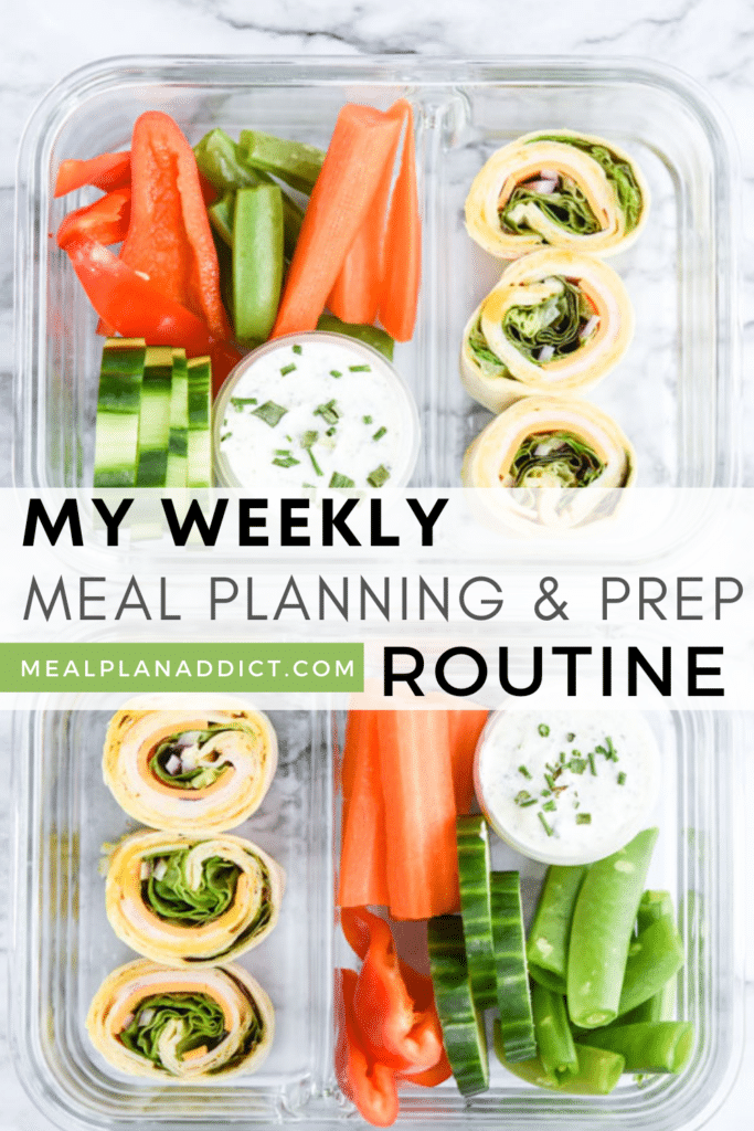 My weekly meal planning and prep routine featured image