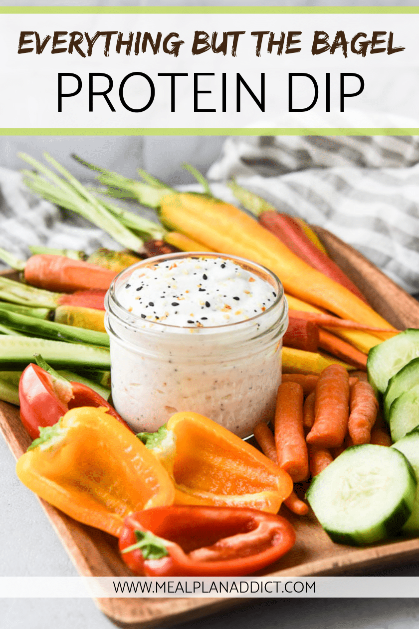 Everything but the Bagel Protein Dip