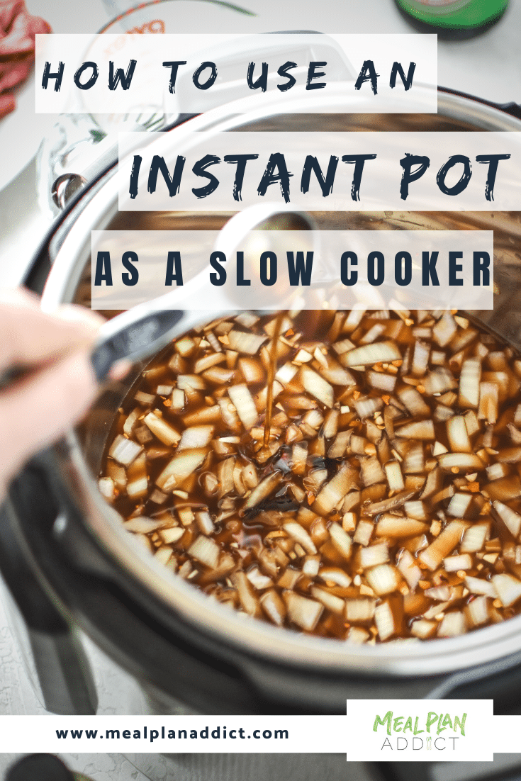how to use an instant pot as a slow cooker (1)