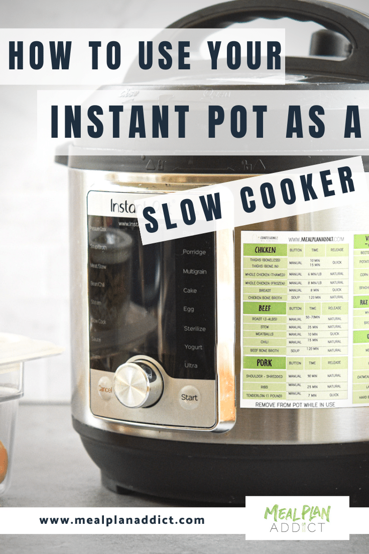 how to use your instant pot as a slow cooker (1)
