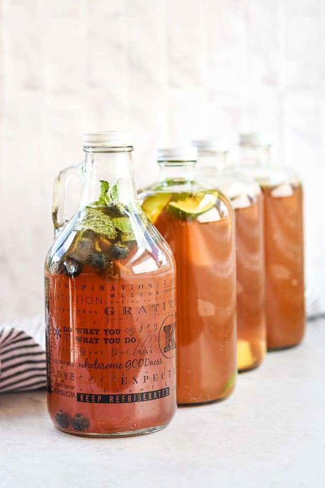 How to brew kombucha at home bottles f2
