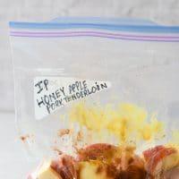 Instant Pot Apple Honey Pork Tenderloin