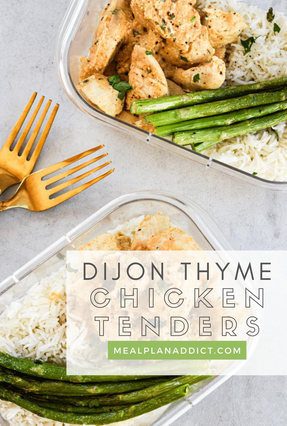 Chicken tender pin for Pinterest