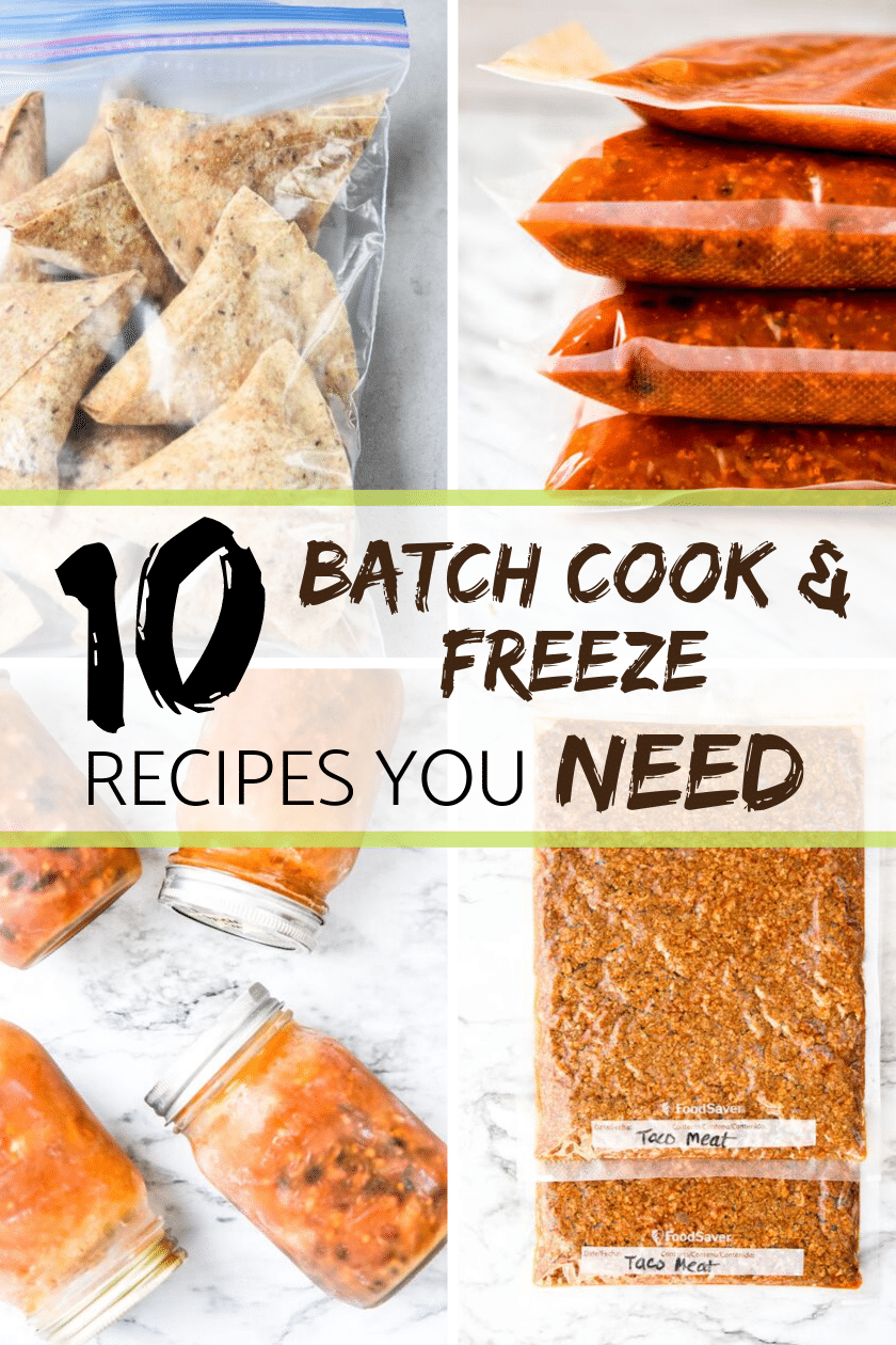 10 Batch cook and freeze recipes you need