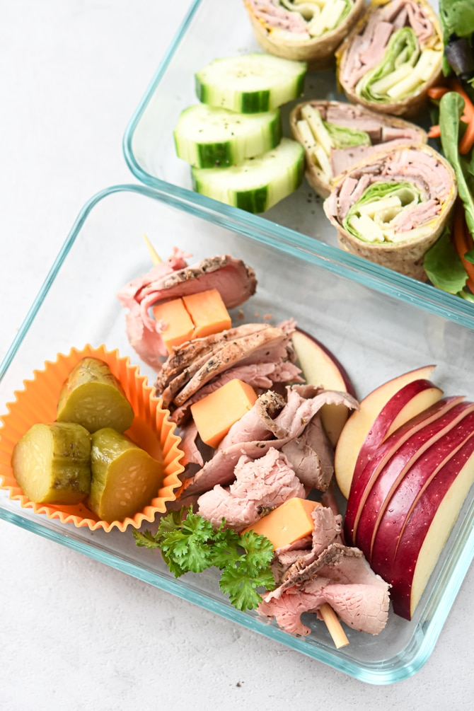 roast beef lunch boxes