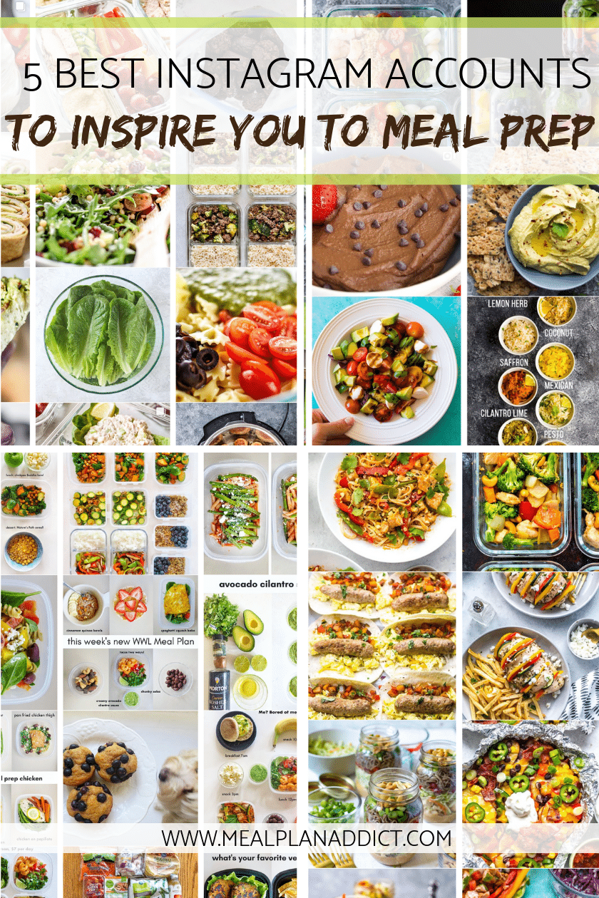5 Best Instagram Accounts to Inspire you to Meal Prep