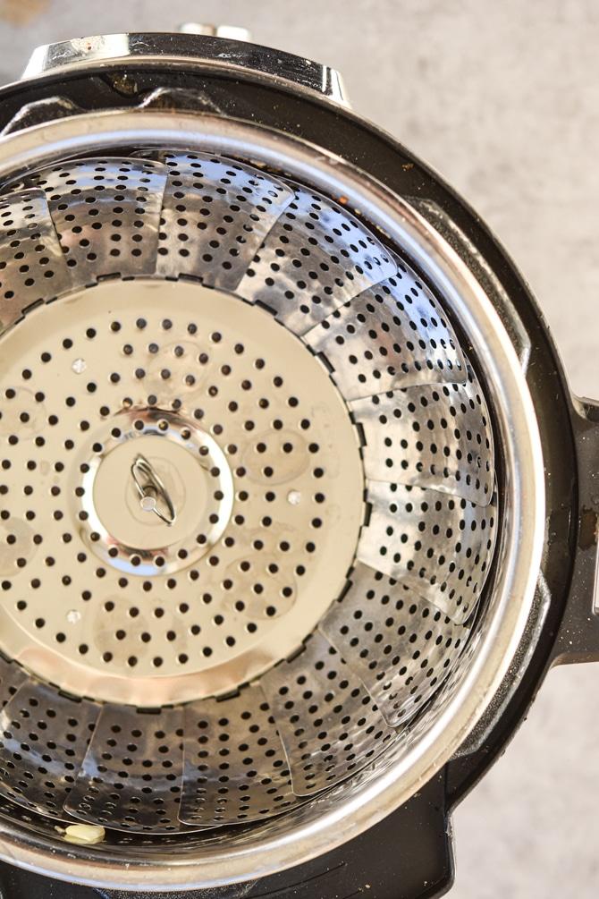 trivet in instant pot for mashed potatoes