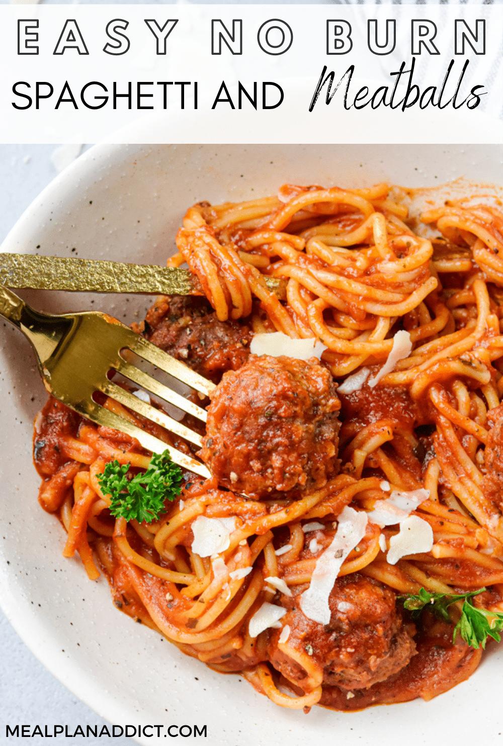 Spaghetti pin for Pinterest