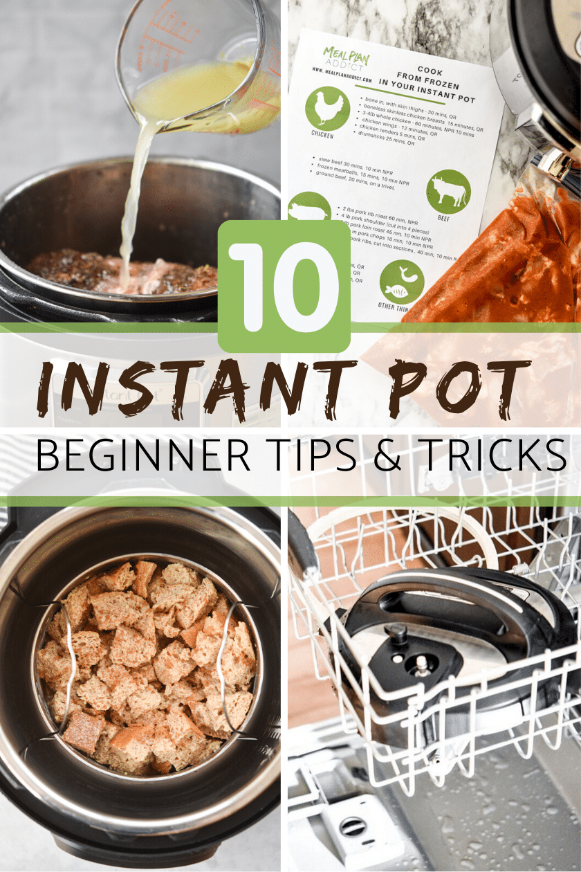 Instant Pot Beginner Tips and Tricks