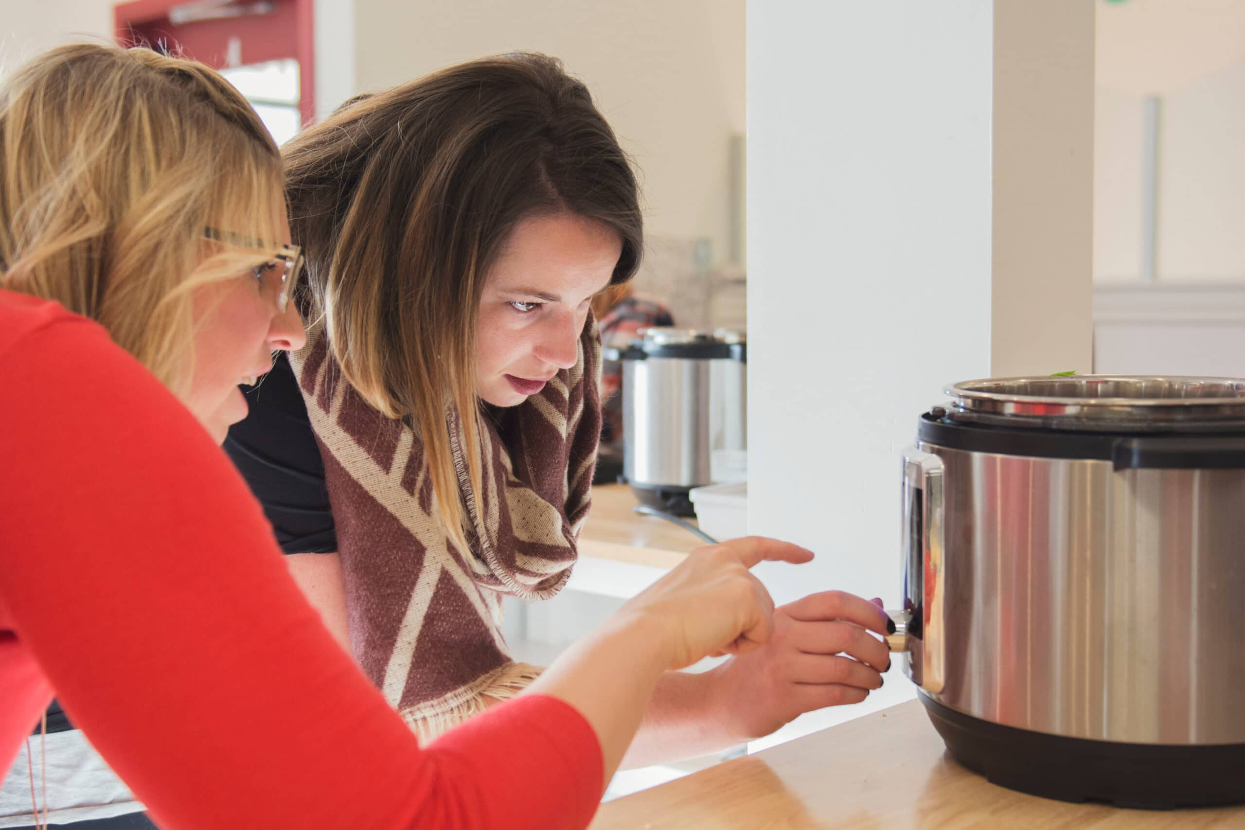 Interacting with Instant Pots